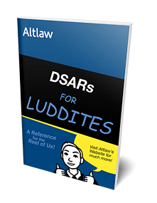 DSARs for Luddites mock up image